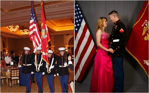Military Ball Kleider