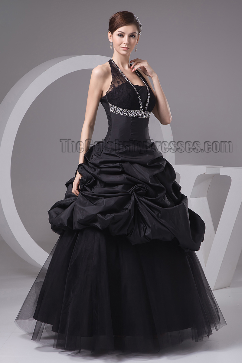 Black Halter Dresses