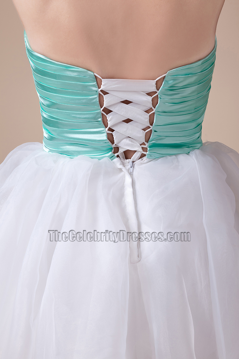 Cute Strapless Short Mini A-Line Party Sweet 16 Dresses ...
