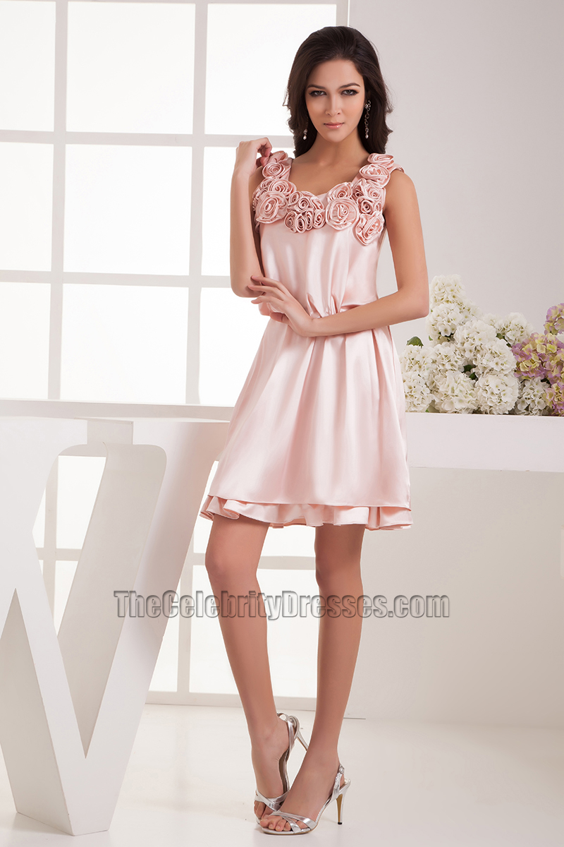 Pink Cocktail Dresses for Weddings