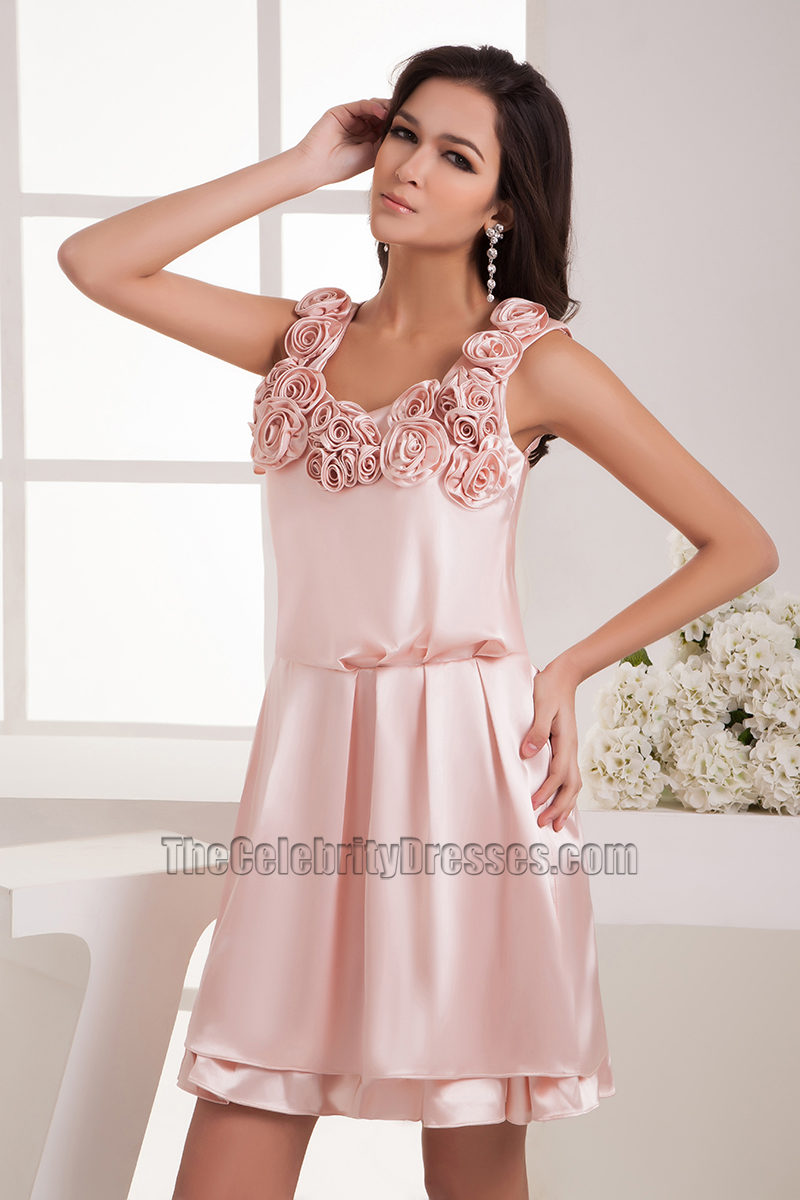 Gorgeous Short Pink Party Homecoming Graduation Dresses ...