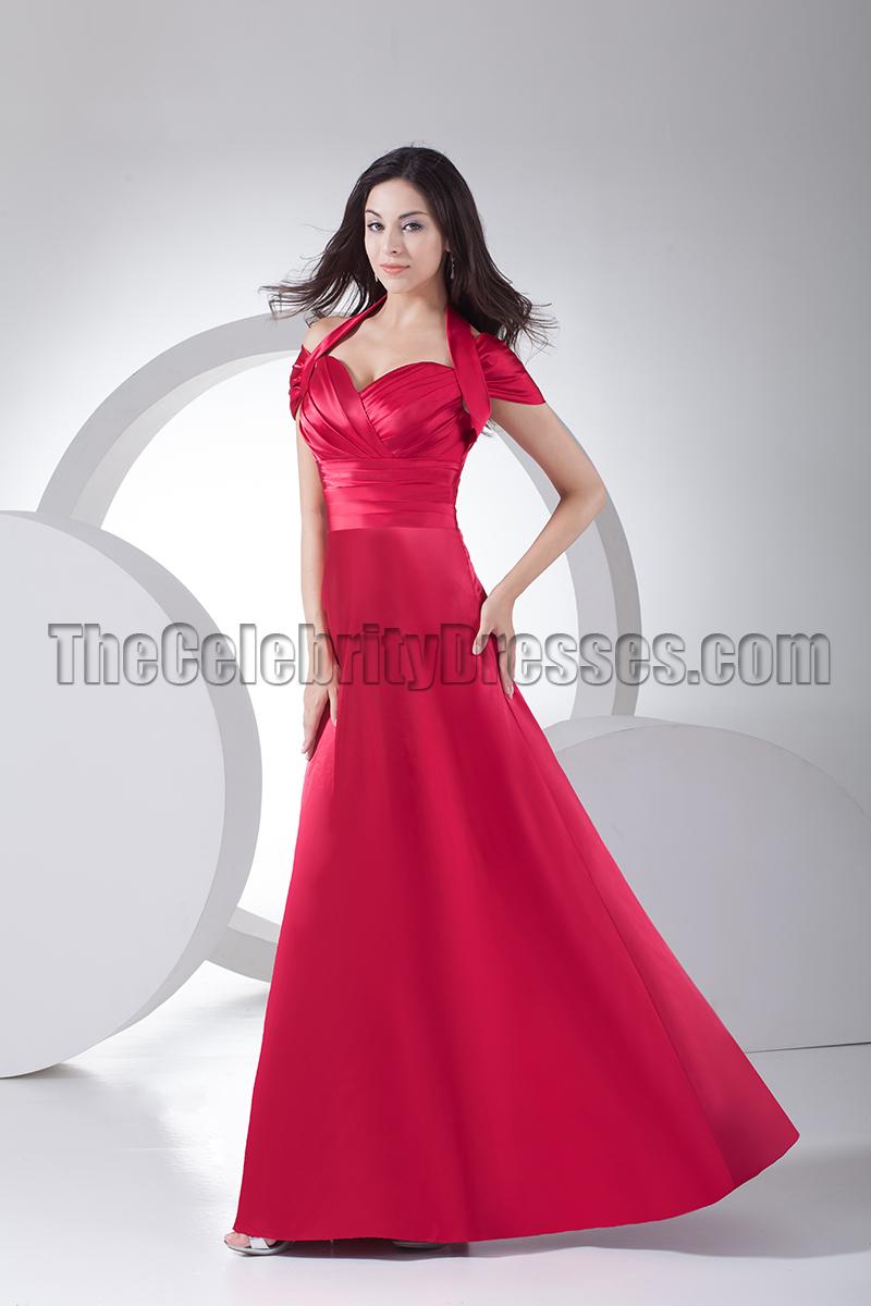 Celebrity Inspired Halter Evening Dress Formal Gowns ...