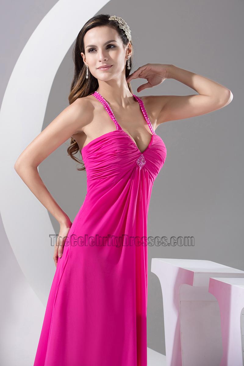 Long Fuchsia Gown