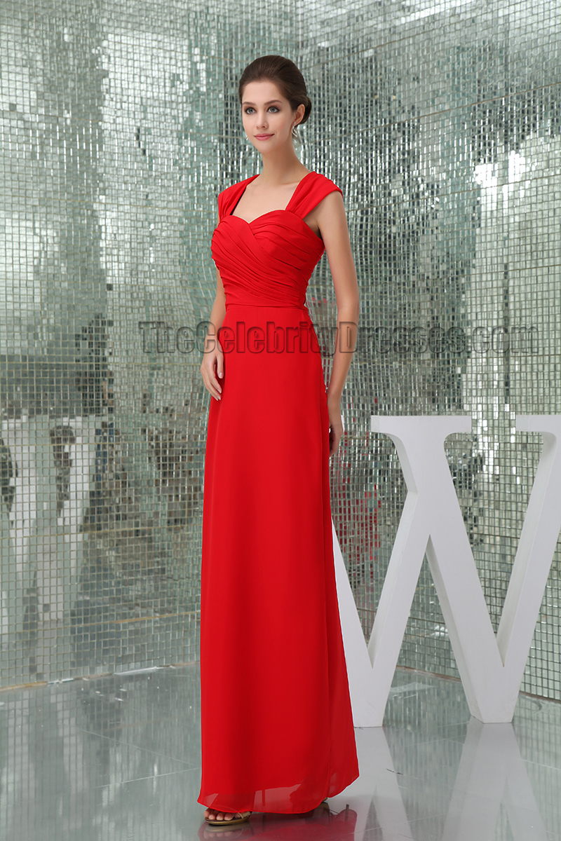 Sheath/Column Red Cut Out Prom Gown Evening Formal Dresses ...