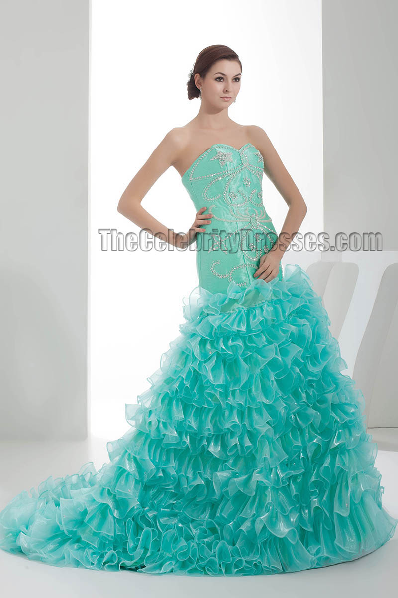 Stunning Trumpet /Mermaid Beaded Formal Evening Dresses ...