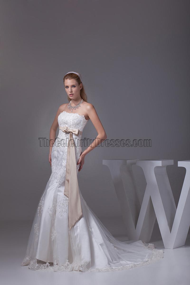 Trumpet mermaid tulle embroidery wedding dresses for Embroidered mermaid wedding dresses
