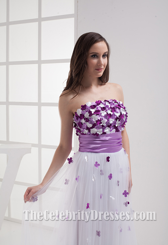 Gorgeous Strapless Prom Dresses Evening Gowns - TheCelebrityDresses