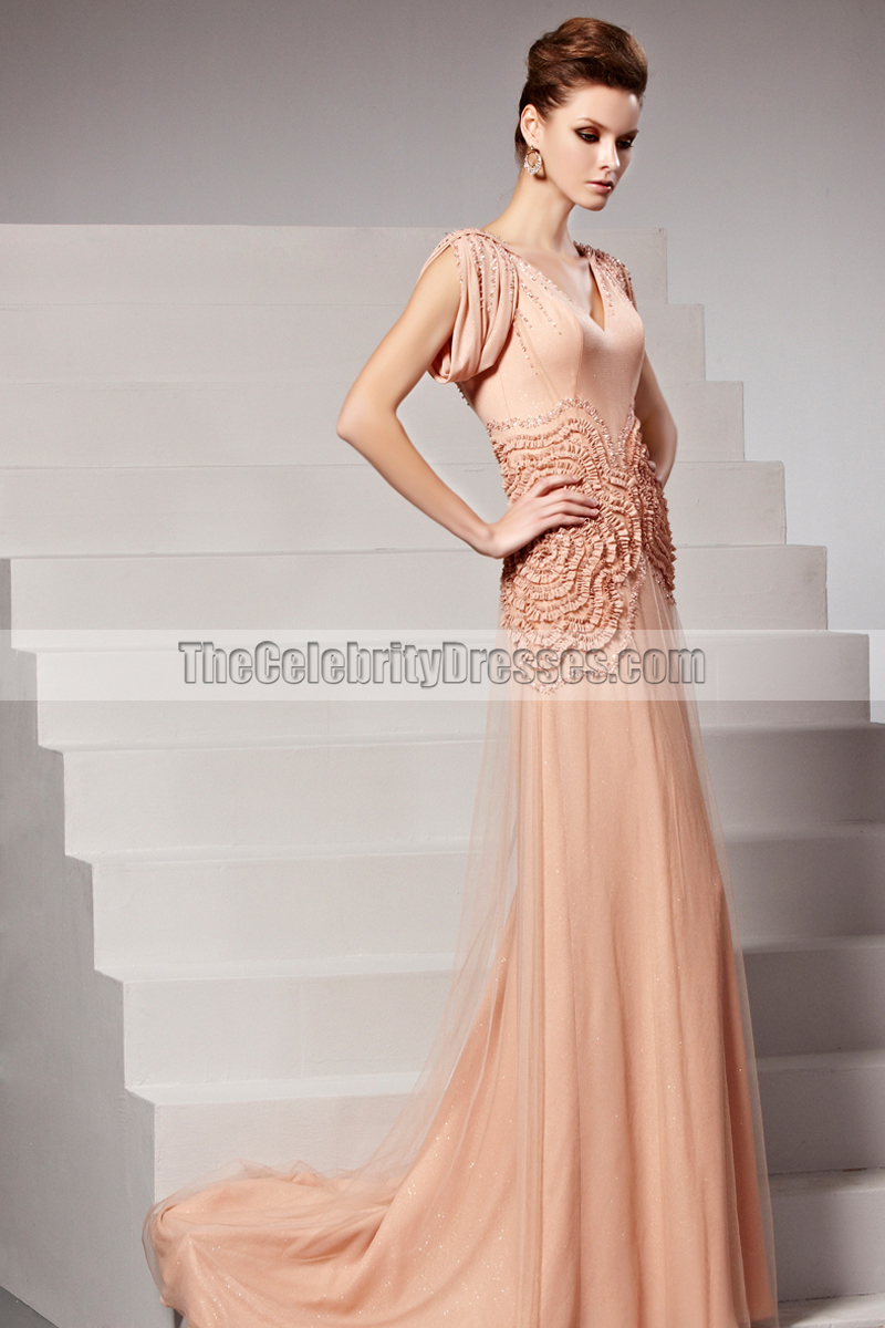 2014 new style low back formal dress evening gown