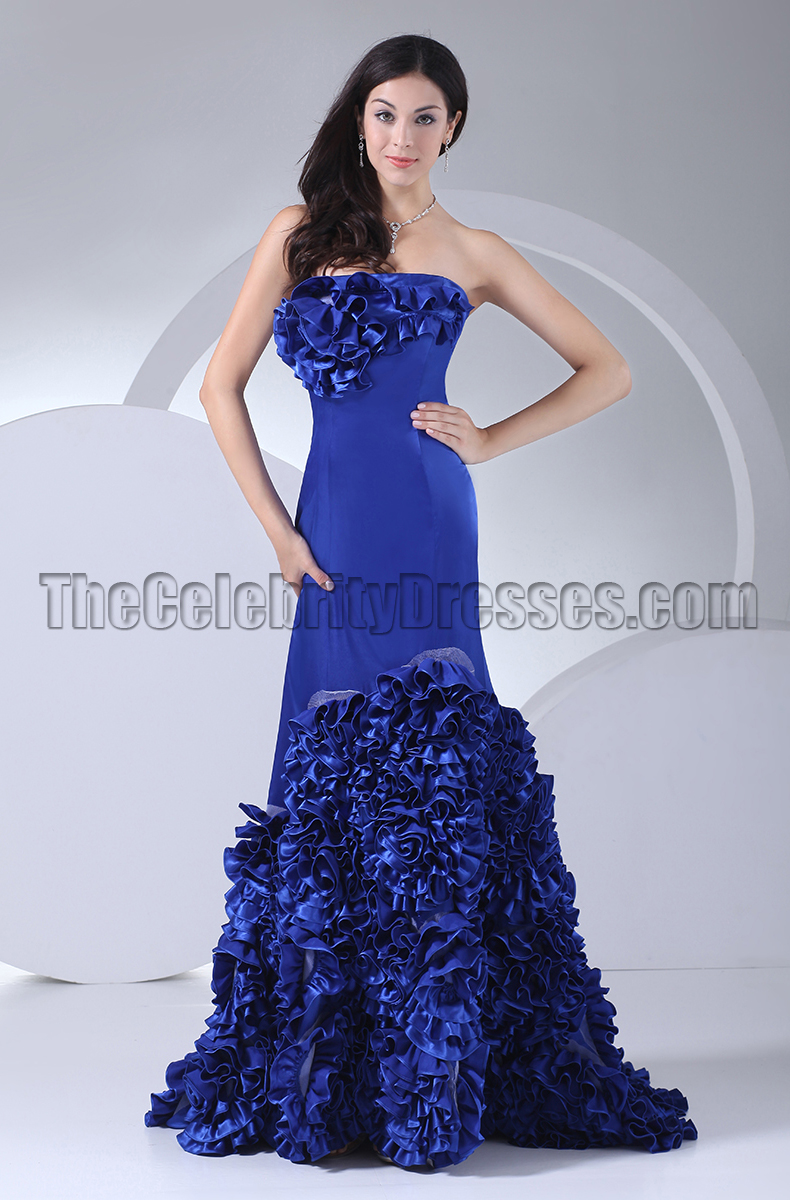 New Style Royal Blue Formal Dress Evening Prom Gown ...
