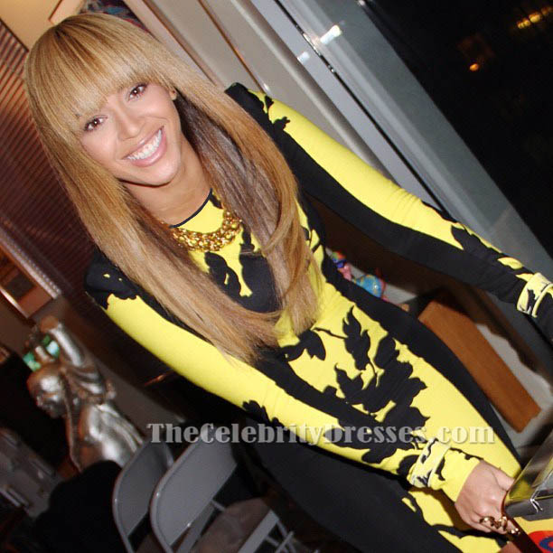 Black and yellow dress beyonce