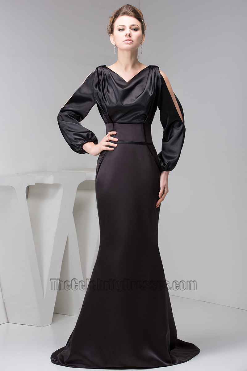 Women Long Sleeves Formal Gown Evening Dresses - TheCelebrityDresses