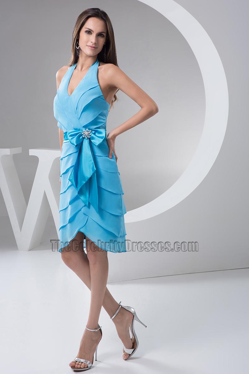 Exelent Halter Neck Party Dress Frieze - All Wedding Dresses ...