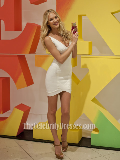 Candice Swanepoel Sexy Röcke Bandage Cocktail Party Kleider ...