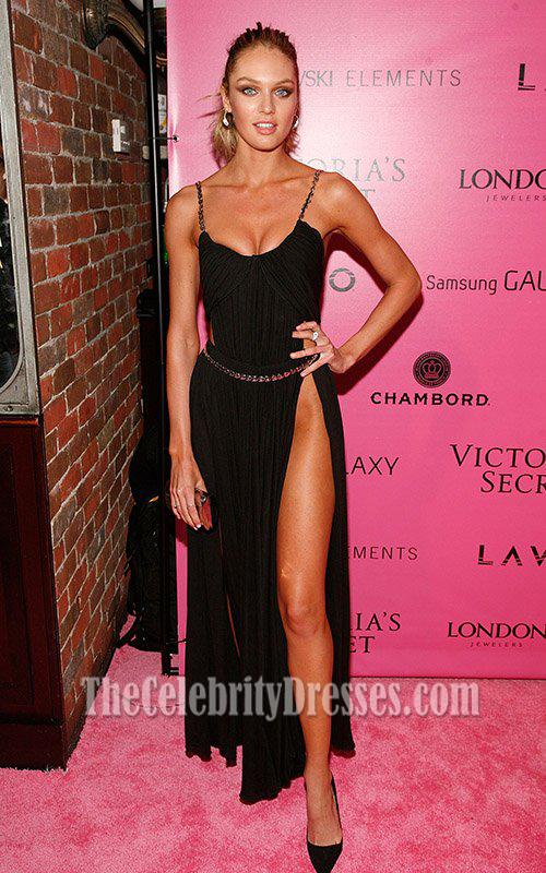 Candice Swanepoel Sexy Prom Dress Victoria\'s Secret Fashion Show ...