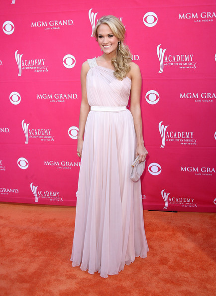 22aee23d Carrie Underwood Pink Prom Dress 44th Annual Academy Of Country Music Awards