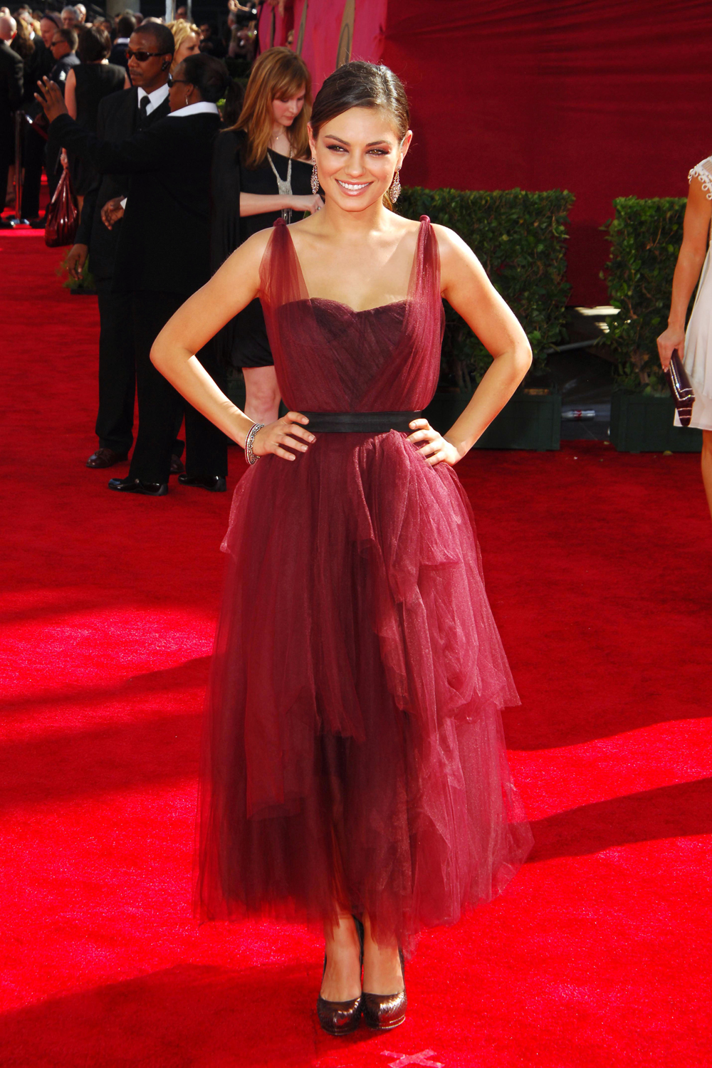 Celebrity dresses mila kunis prom dresses 2009 emmy awards red carpet thecelebritydresses - Dresses from the red carpet ...