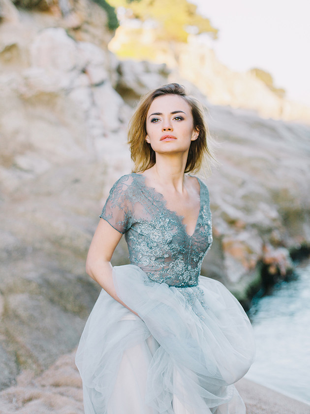 Celebrity Inspired Beach Wedding dress Evening Prom Gown ...