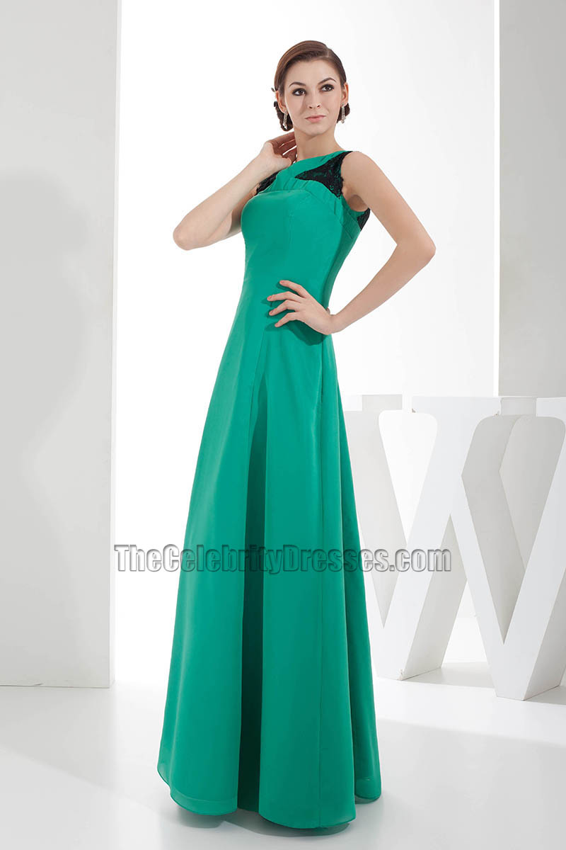 Chic Hunter A-Line Long Prom Gown Evening Formal Dress ...