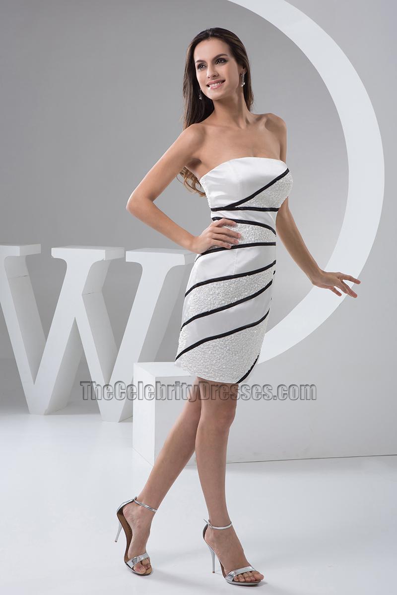 Short Strapless Cocktail Dresses