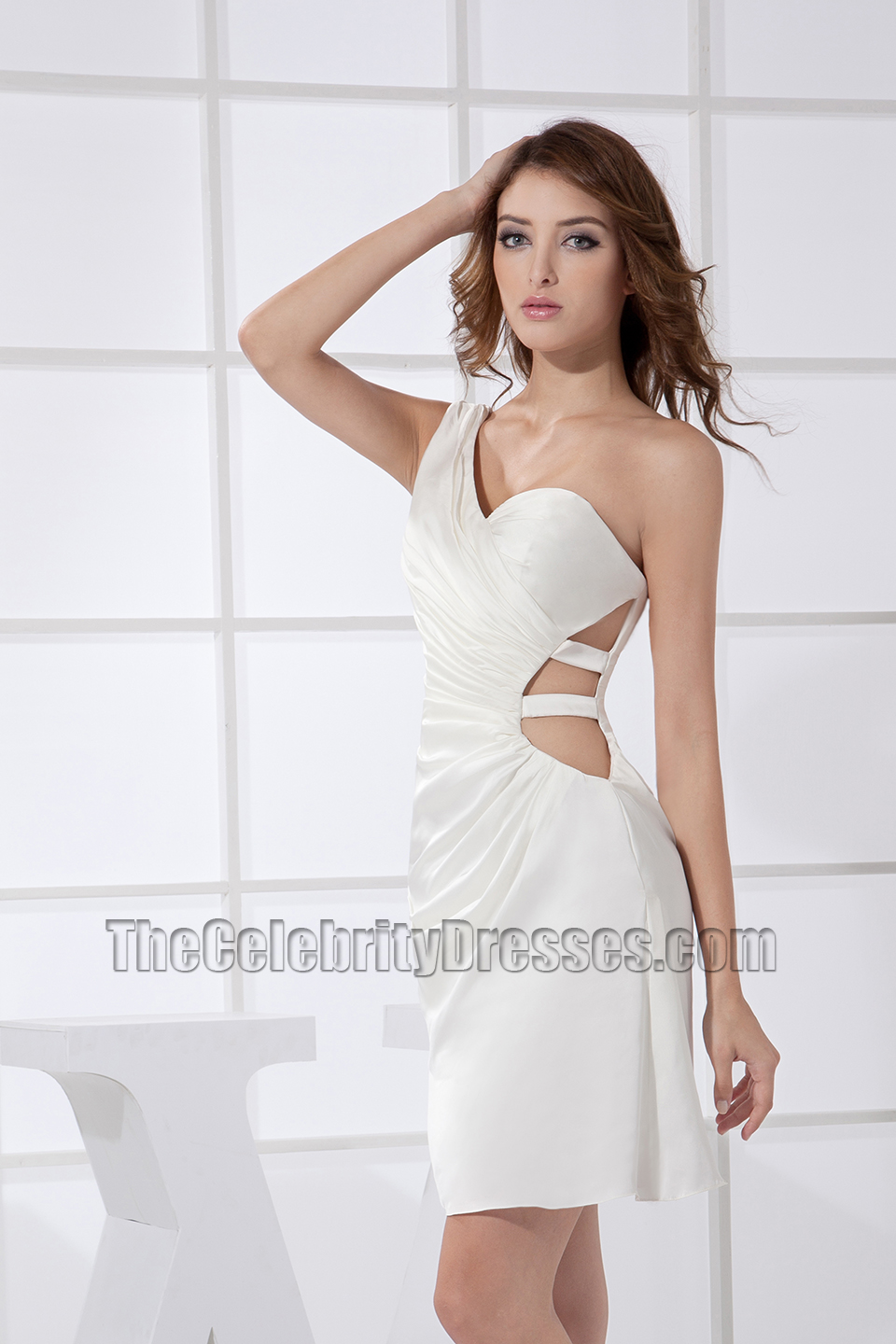 With plenty of styles, like strapless, halter, and long sleeve wedding guest dresses to dreamy silhouettes like A-line and party skirts, our endless variety of dresses will give you lots of fashionable options for your next wedding ceremony. Off Shoulder Leaf Applique Mesh Party Dress $ One Shoulder Sequin Dress $