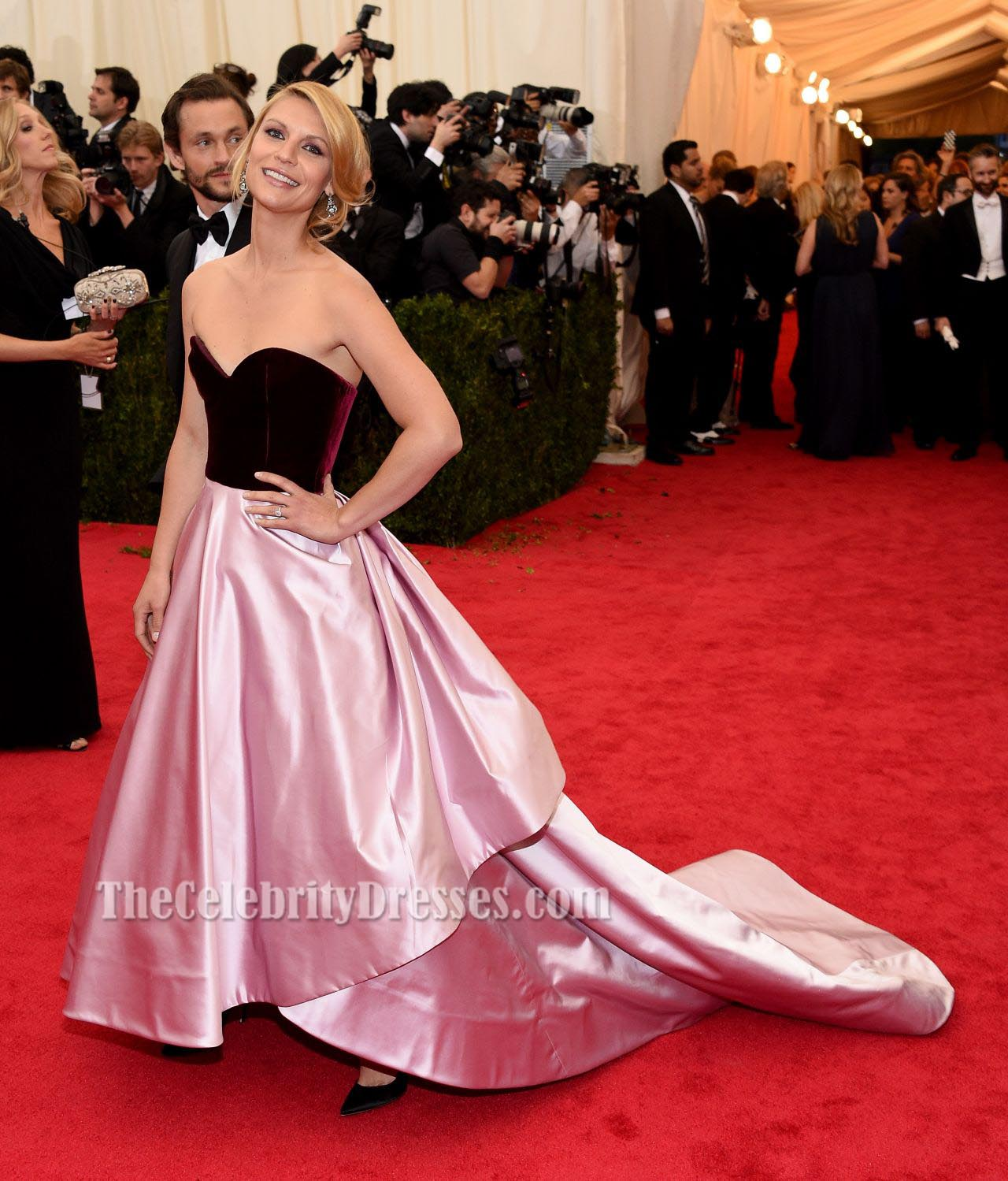 Claire danes satin formal dress ball gown 2014 met costume claire danes satin formal dress ball gown 2014 met costume institute gala thecelebritydresses nvjuhfo Gallery
