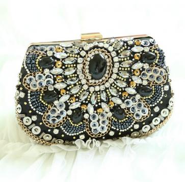 Women's Beaded Dress Clutch Popular Design Shining Lady Evening Bag TCDBG0090