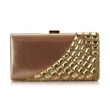 New Luxury Women's Evening Bag Party Diamond Clutch Purse 6