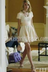 Jenny Short Bridesmaid Homecoming Celebrity Dress Gossip Girl Season