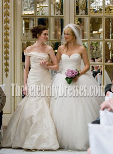 Anne Hathaway Wedding Gown in Movie Bride Wars TCD0207