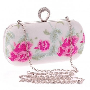 Women Fashion Embroidery Handbag Girls Evening Party Clutch Bag TCDBG0126