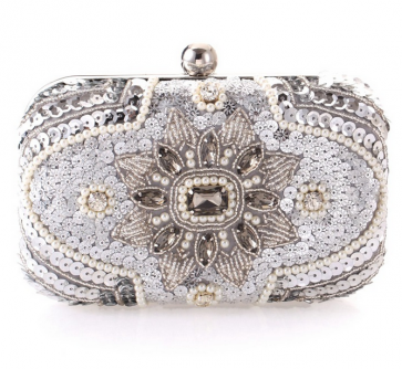 Popular Gorgeous Fashion Diamond Beaded Clutch Hand Bag TCDBG0079