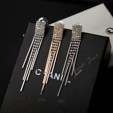 Women's Fashion High Quality Tassel Earrings diamond earrings  TCDE010