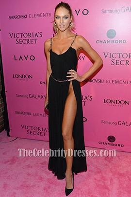 Candice Swanepoel Sexy Prom Dress Victoria S Secret