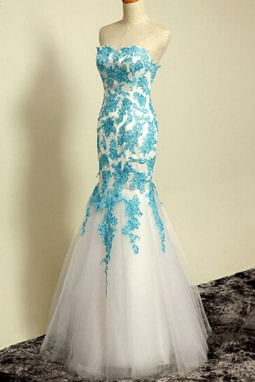 Celebrity Inspired Strapless Sweetheart Prom Gown Evening Formal Dresses TCDFD7352