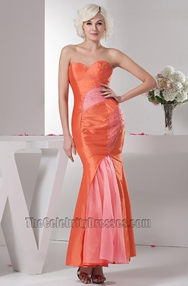Chic Strapless Trumpet Mermaid Prom Gown Evening Dresses