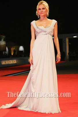 Diane Kruger Evening Dress Venice Film Festival 2007 Red Carpet Dresses