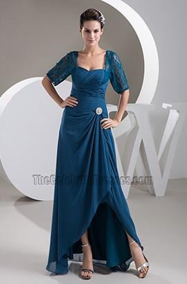 Elegant Square Neckline Formal Dress Evening Gown