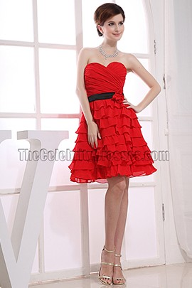 Gorgeous Red A-Line Sweetheart Party Dress Homecoming Dresses