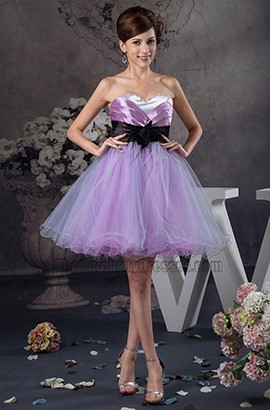Gorgeous Strapless Sweetheart A-Line Party Homecoming Dresses