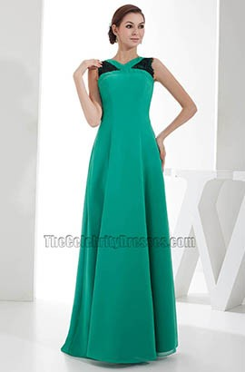 Hunter A-Line Long Prom Gown Evening Formal Dress