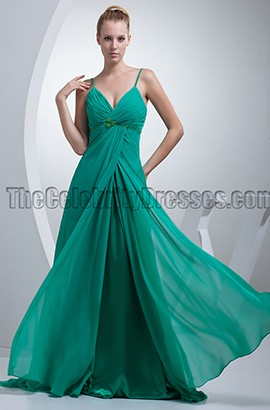 Discount Hunter Chiffon Bridesmaid Dresses Prom Gown