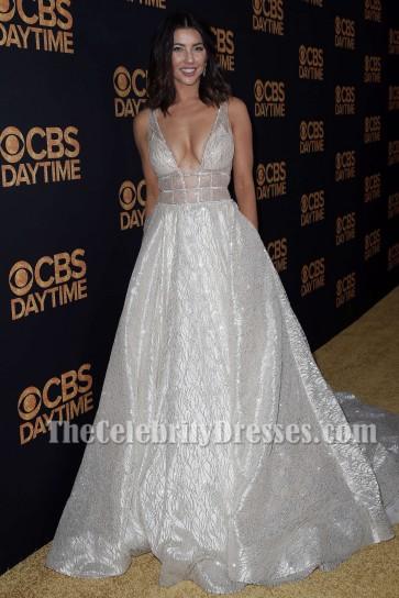 Jacqueline MacInnes Wood Sparkly Evening Dress 2016 Daytime Emmy Awards TCD7220