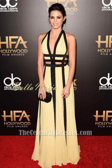 Jenna Dewan Tatum Sexy Evening Dress 19th Annual Hollywood Film Awards TCD6383