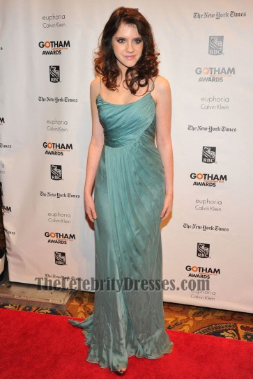 Kara Hayward Spaghetti Straps Evening Dress 22nd Annual Gotham Independent Film Awards TCD6108