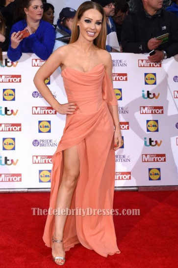 Katie Piper Strapless Evening Dress Pride Of Britain Awards 2015 TCD6399