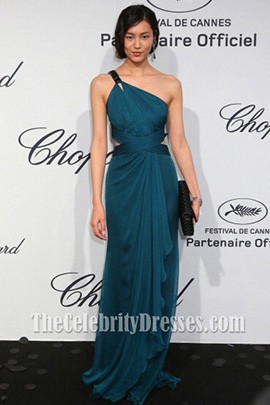 Liu Wen Evening Dress Soiree Chopard Mystery Party Dress
