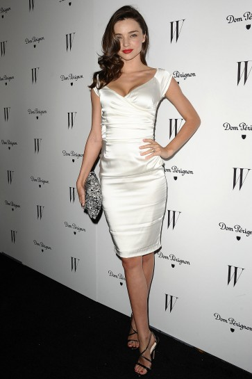 Miranda Kerr Short Party Cocktail Dress Magazine Dom Perignon Celebrates TCD6080