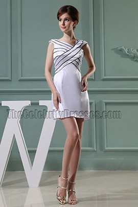 Chic Cocktail Dress Mini Celebrity Inspired Party Dresses