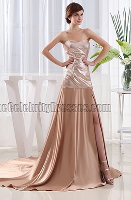 New Style Strapless Formal Dress Evening Prom Gown