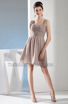 Discount Short Chiffon Party Cocktail Homecoming Dresses